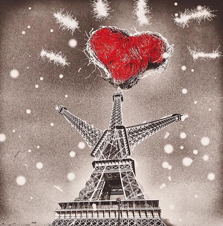 Je suis (à) Paris! Courage à tous.