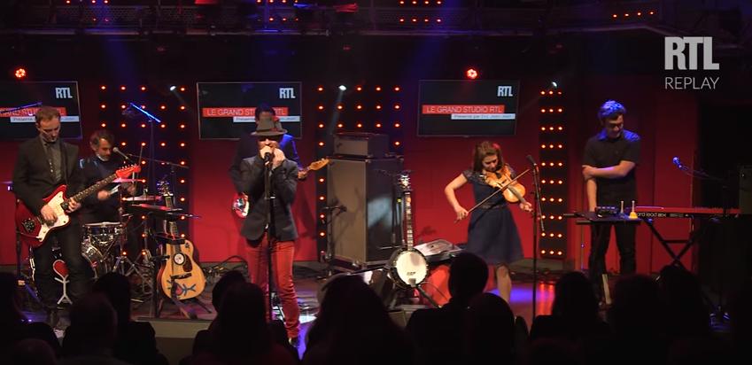 Dionysos interprète 3 titres dans «Le Grand Studio RTL»