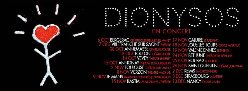Dates de tournée 2016